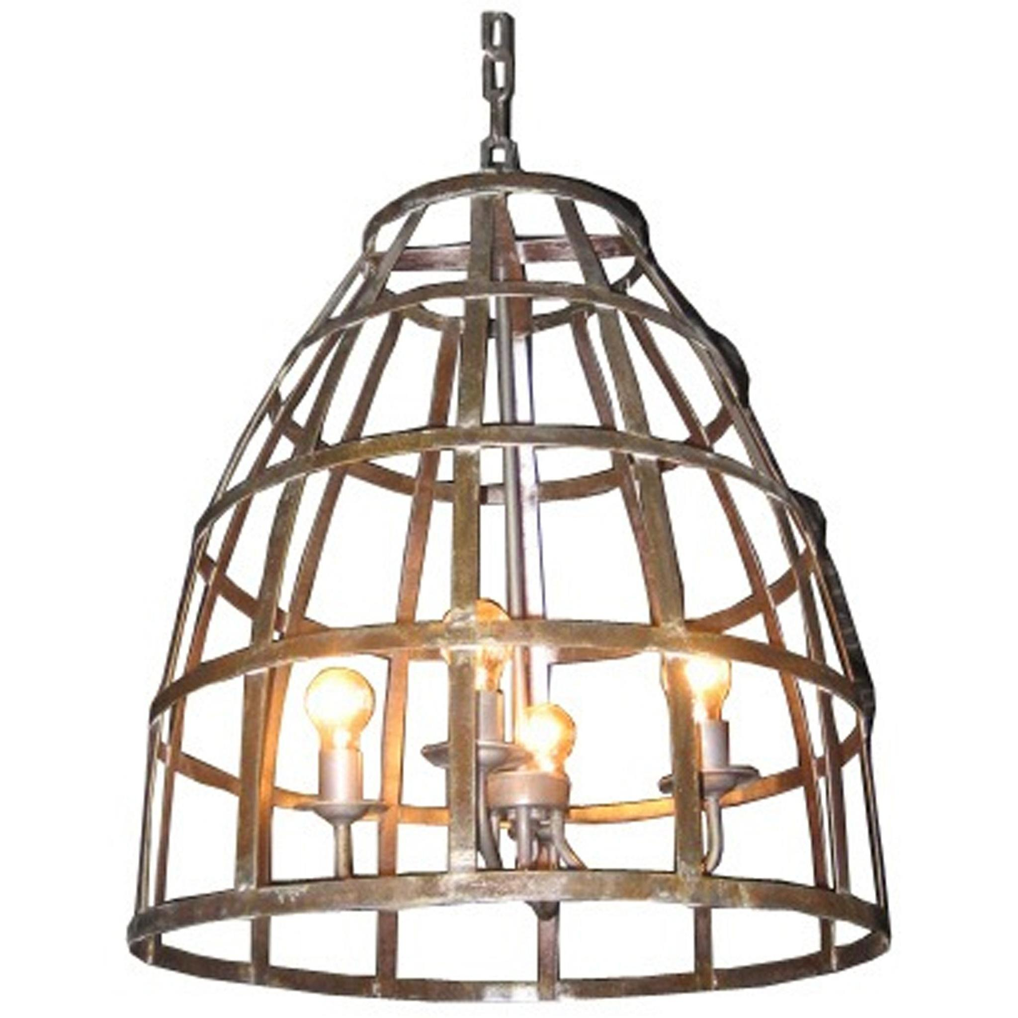noi birdcage chandelier lighting. Black Bedroom Furniture Sets. Home Design Ideas